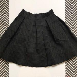 Black Express Mini Skirt